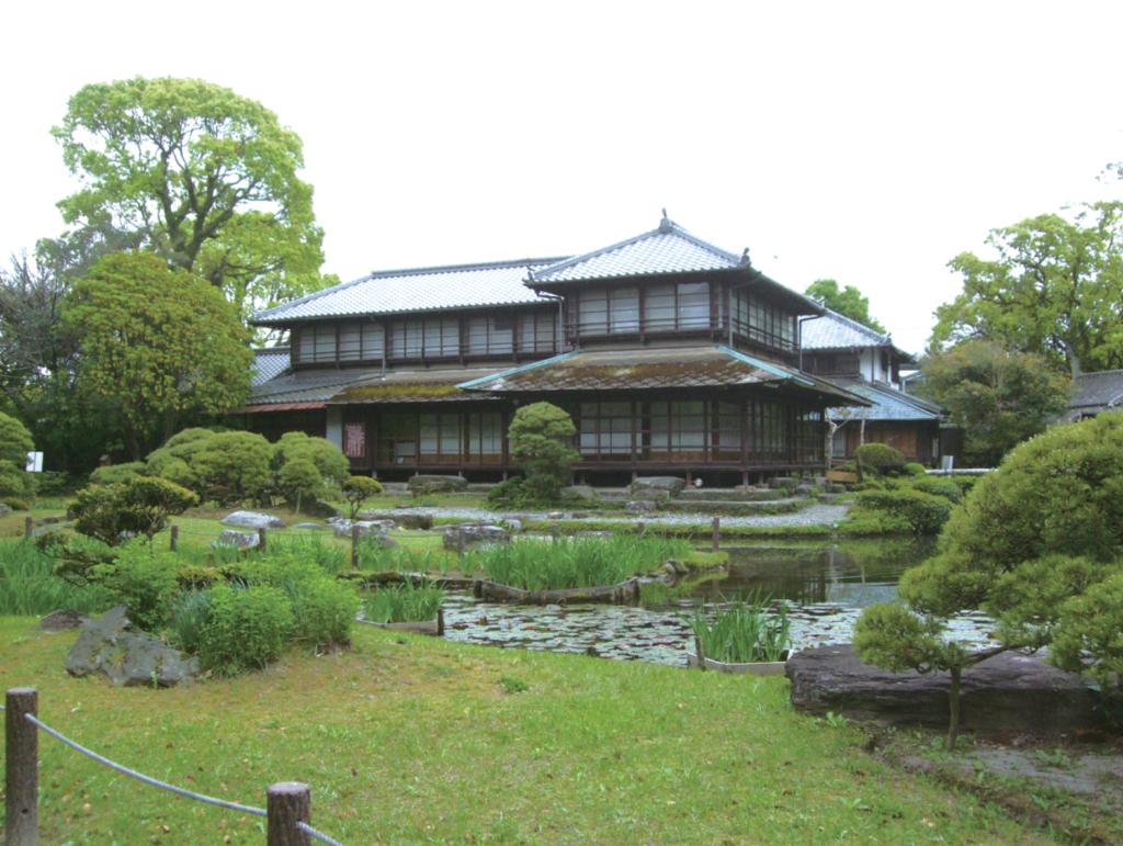国指定名勝「旧熊本藩八代城主浜御茶屋(松浜軒)庭園」